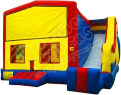 Regular Inflatable Theme Combo Bouncer