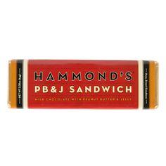 Chocolate Bar - PB & J Sandwich