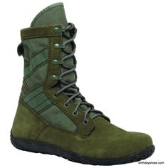 $120 Barefoot training boot / Minimalist Military Combat Boot Mini-Mil from Belleville First Look