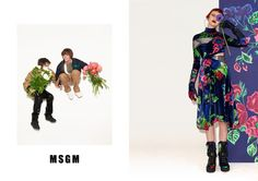 Fashion Copious - Katie Moore & Charlee Fraser for MSGM FW 16.17 Campaign by Walter Pfeiffer