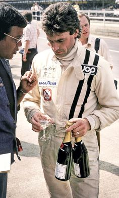 """At least you could have bought Dom Perrion!"" The late Tom Pryce"