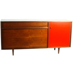 Milo Baughman for Glenn of California Credenza | From a unique collection of antique and modern credenzas at http://www.1stdibs.com/furniture/storage-case-pieces/credenzas/