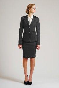 Staple Gray Blazer and Skirt, for the office :)