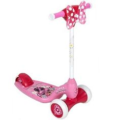 "Minnie Mouse Lights and Sounds Scooter - Huffy - Toys ""R"" Us. $49.99. On sale for $29 - maybe for 3rd birthday."