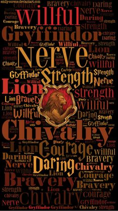 This print embodies the unique traits of the House of Gryffindor. This is what it takes to become a student of Gryffindor; confident, passionate and brave are all traits that we see possessed by the Gryffindor characters in Harry Potter. Harry Potter World, Harry James Potter, Harry Potter Universal, Harry Potter Fandom, Harry Potter Houses Traits, Harry Potter Lock Screen, Harry Potter Casas, Estilo Harry Potter, Mundo Harry Potter