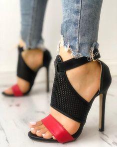 2018Womens Stilettos Heel Open Toe Ankle Strap Bowknot Shoes Sandals Pumps Suede