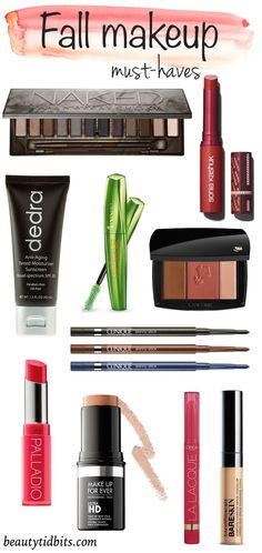 Keep your beauty game in check with these new fall makeup must-haves!