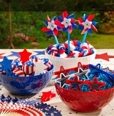 Red white and blue 4th of july first birthday cake by the for 4th of july party ideas for adults