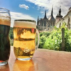 Took a day trip out to Kutná Hora and naturally we've stopped for beer: Took a day trip… #landscape_photos #beer #Hora #Kutná #Naturally