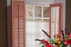 Lafayette Interiors Fashions is an industry leader in decorative window shutter manufacturing including quality plantation shutters, wood shutters, and more. Custom Shutters, Wood Shutters, Window Shutters, Interior Plants, Interior Design, Rustic Window Treatments, Windows, Furniture, Woodland