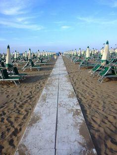 Rimini, spiaggia.