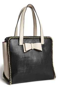 Betsey Johnson 'Tough Love' Faux Leather Tote available at #Nordstrom