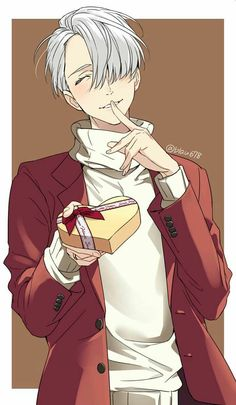 ImageFind images and videos about anime, yuri on ice and viktor nikiforov on We Heart It - the app to get lost in what you love. Yuri Plisetsky, Me Me Me Anime, Anime Guys, Yuri On Ice Fondos, Victor Y Yuri, Takarai Rihito, Yuri!!! On Ice, Victor Nikiforov, Katsuki Yuri