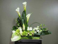Fleurs pour urne 1304-2 Fleuriste Montreal