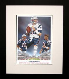 FRAMED Tom Brady by Darryl Vlasak 26x20 Art Print Poster ... https://www.amazon.com/dp/B0074ACQYM/ref=cm_sw_r_pi_dp_x_4es-ybTYBMJFN #buyartforless