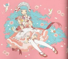 Kira Imai artbook #sweetlolita