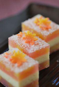 茶席上生菓子 『初霜』 はつしも (Tea Ceremony sweets 'first frost')