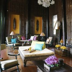 Designer Vicente Wolf Inspires With Tips From a Beautiful Bangkok Home - www.casasugar.com