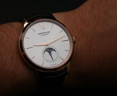 Montblanc Meisterstück Heritage Moonphase Watch Hands-On Hands-On
