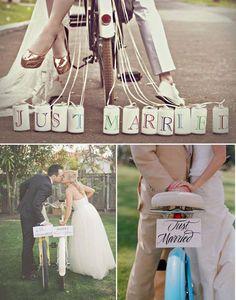 Bicicleta casamento