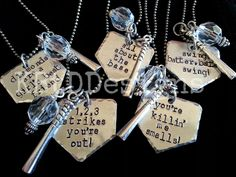 Home Plate Baseball Necklace by KBtDDesigns on Etsy https://www.etsy.com/listing/223038202/home-plate-baseball-necklace