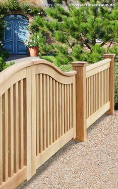 Wooden Driveway Gates, Garden Gate and Yard Gate painted white or colored - guarantee of 25 years