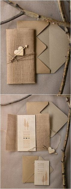 Rustic country canvas wedding invitations / / rustic wedding invitations - wedding ideas Rustic Country Burlap Wedding Invitations / / rustic wedding invitations STEP-BY-STEP . Burlap Wedding Invitations, Creative Wedding Invitations, Engagement Invitations, Vintage Wedding Invitations, Diy Invitations, Wedding Invitation Wording, Corporate Invitation, Shower Invitation, Invitation Ideas