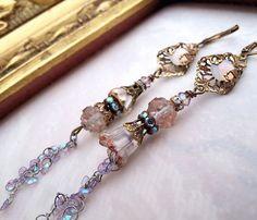 Faerie tale earrings by LaCamelot.etsy.com