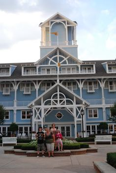 Dinner at Cape May - Walt Disney World