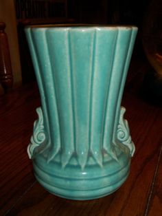 I collect vintage McCoy pottery in jade and off white
