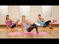 15-Minute No-Excuses Bodyweight Workout | Class FitSugar - YouTube