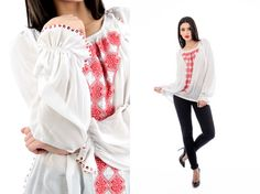 UNICA<3 #romaniablouse #ieromanesaca Bell Sleeves, Bell Sleeve Top, Ruffle Blouse, Collection, Tops, Women, Fashion, Moda, Fashion Styles