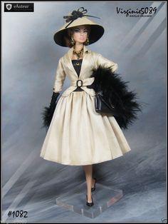 Tenue Outfit Accessoires Pour Fashion Royalty Barbie Silkstone Vintage 1082 | eBay