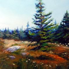 My Favorite Tree by Renee Lammers Oil ~ 6 x 6