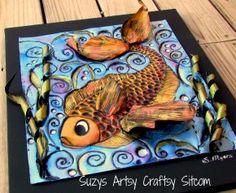 Enchanted Fish pattern/Suzys Artsy Craftsy Sitcom