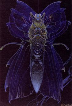 Moebius - Concetti Alien Abyss 3