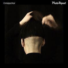 "So hot  by @mizzchoi ""Us korean girls have a lot of hair, this was definitely the move #hair #haircut #undercut #mizzchoi for my bb @kimmylemieux #ramireztran #ramireztransalon"""