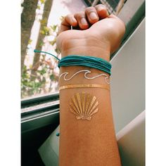 Billabong gold foil tattoos in the #BillabongBIkiniTruck gift bags at UCSB http://www.swell.com/Billabong-Bikini-Truck