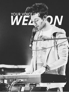 Weapon. I can't wait for the recording of this song!!! It would make a great single