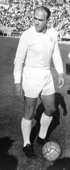 """""""Alfredo Di Stéfano"""". Depois de Pelé, foi o melhor Jogador de Futebol que já existiu!"""