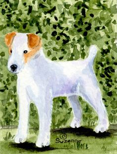 Jack Russell Terrier Flag Canvas House Size