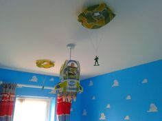 pixar theme nursery | Toy Story themed nursery, i designed my little boys room to look just ...