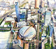 Master Planning   Urban Design   redchalksketch