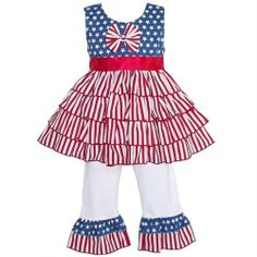 Can't you just see your little one in this great outfit?