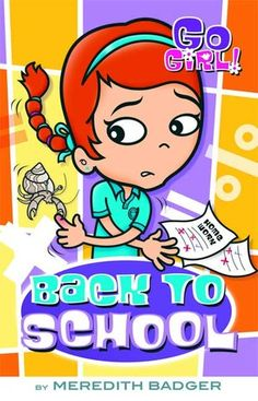 Go Girl 8 Back School Meredith Badger Paperback S Hand Going Back To School, Badger, Music Games, Cartoon, Reading, Year 2, Books, Kids, Fictional Characters
