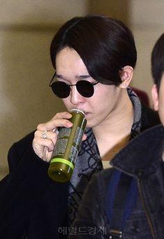 141201 #Taehyun at Incheon Airport (Departure to Hong Kong)!