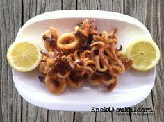 Receta paso a paso para preparar en casa unos deliciosos y crujientes calamares fritos al estilo Norai Taberna de Lekeitio. Triunfarás.