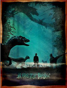 Jurassic Art Jurassic poster