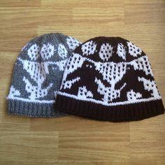 Handmade Bigfoot Knit Hats