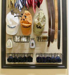 DIY customized closet organizer....definitely need to do this.